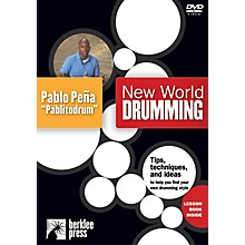 "Berklee Press New World Drumming Instructional/Drum/DVD Series DVD Performed by Pablo Peña ""Pablitodrum"""