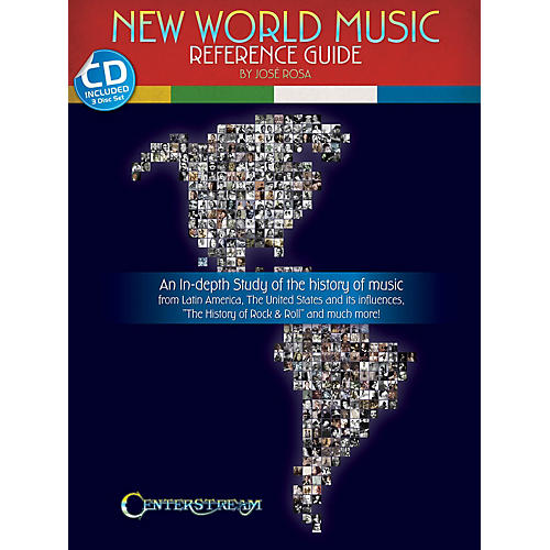 Centerstream Publishing New World Music (Reference Guide) Reference Series Softcover with CD Written by José Rosa-thumbnail