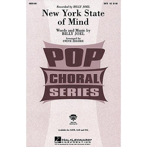 Hal Leonard New York State of Mind (SSA) SSA by Billy Joel Arranged by Steve Zegree