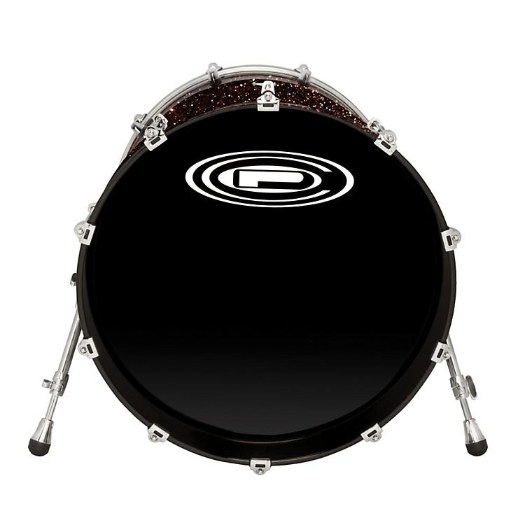 Orange County Drum & PercussionNewport Bass DrumBlack Gold Glitter22 X 20