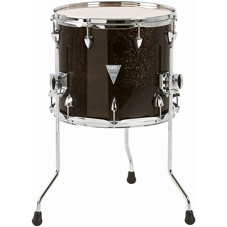 Orange county drum percussion newport floor tom black for 16 x 12 floor tom