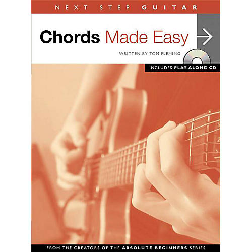Music Sales Next Step Guitar - Chords Made Easy Music Sales America Series Softcover with CD Written by Tom Fleming-thumbnail