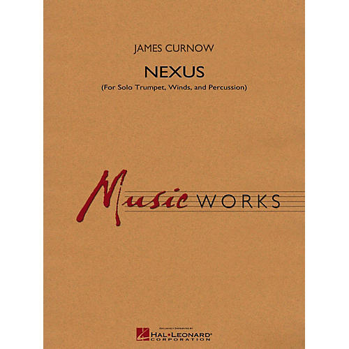 Hal Leonard Nexus (For Solo Trumpet Winds And Percussion) Concert Band Level 4-thumbnail