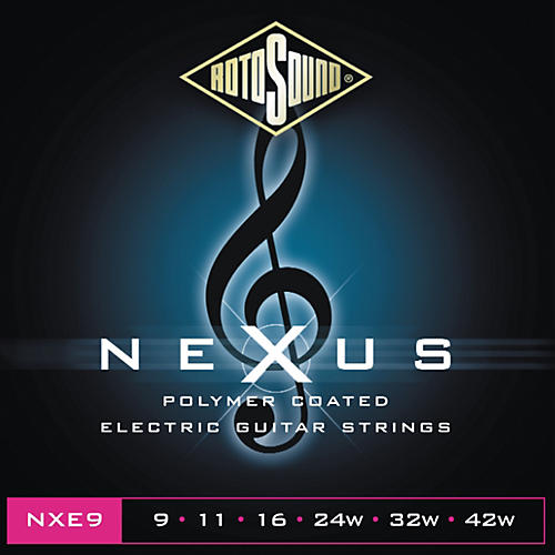 Rotosound Nexus Polymer Extra Light Coated Electric Strings-thumbnail