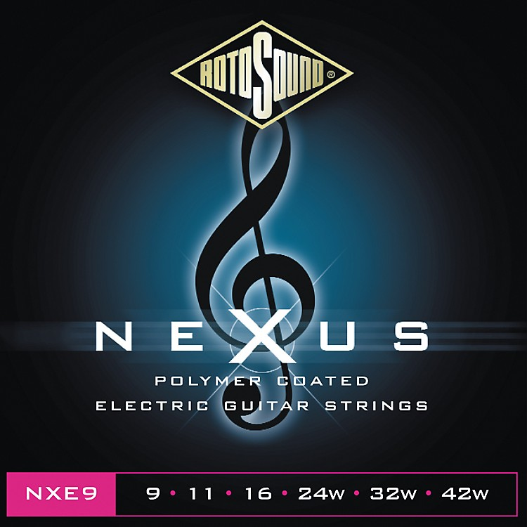 Rotosound Nexus Polymer Extra Light Coated Electric Strings