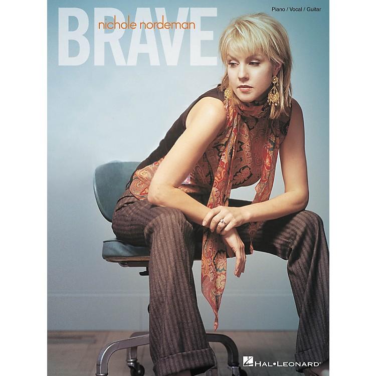 Hal LeonardNichole Nordeman - Brave Piano, Vocal, Guitar Songbook