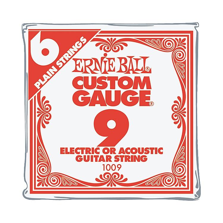 Ernie BallNickel Plain Single Guitar String.0096-Pack