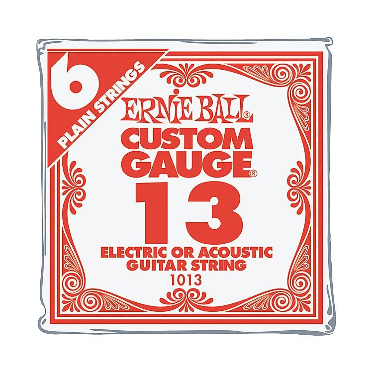 Ernie BallNickel Plain Single Guitar String.0136-Pack