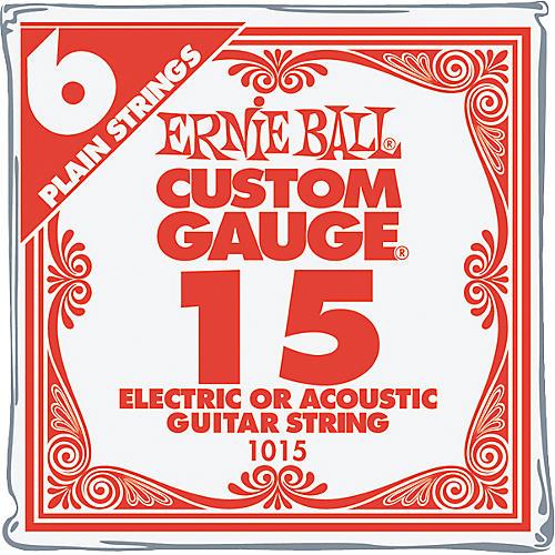Ernie Ball Nickel Plain Single Guitar String