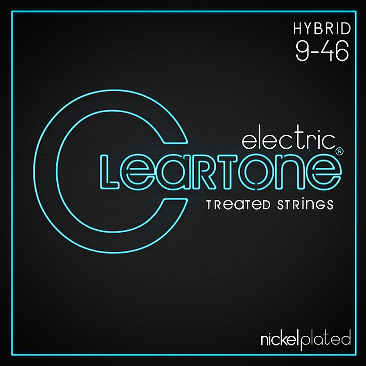 CleartoneNickel-Plated Light Hybrid Electric Guitar Strings