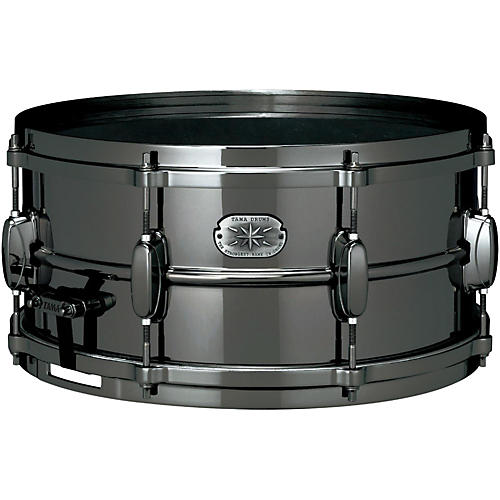 Tama Nickel-Plated Snare Drum Black 6.5x14