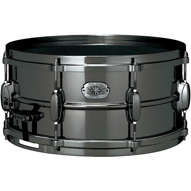 Tama Nickel-Plated Snare Drum Black 6.5x14