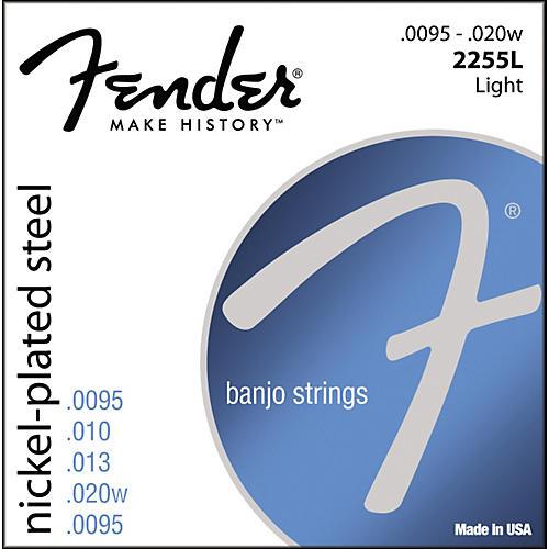 Fender Nickel-Plated Steel Banjo Strings - Light-thumbnail