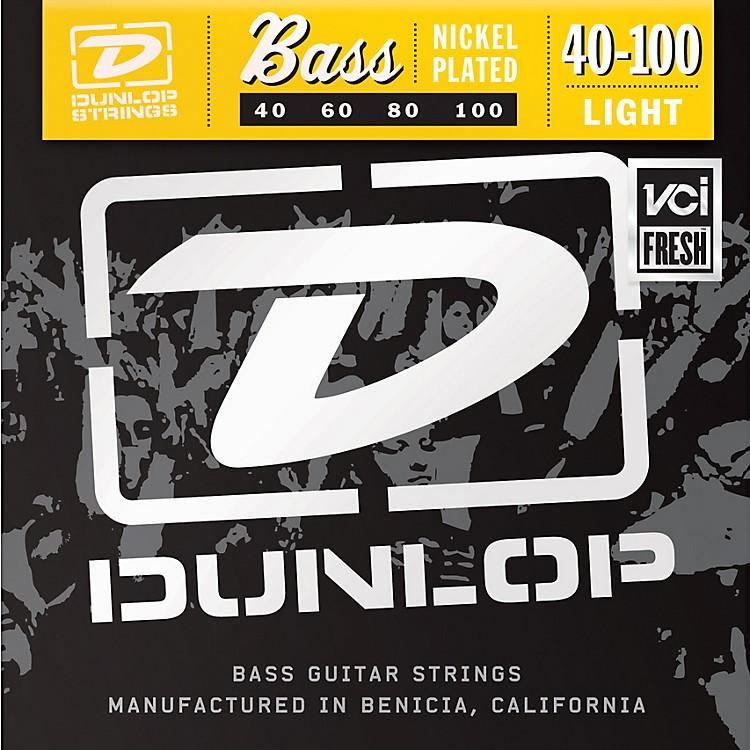 DunlopNickel Plated Steel Bass Guitar Strings - Light