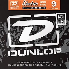 dunlop nickel plated steel electric guitar strings light top heavy bottom 9 39 s musician 39 s friend. Black Bedroom Furniture Sets. Home Design Ideas