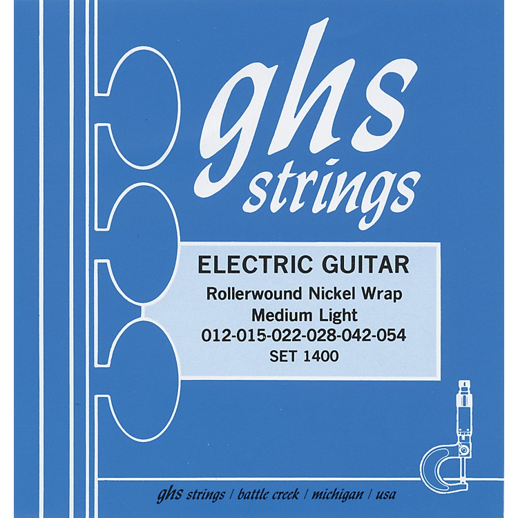 GHS Nickel Rockers Medium Light - Wound Third String