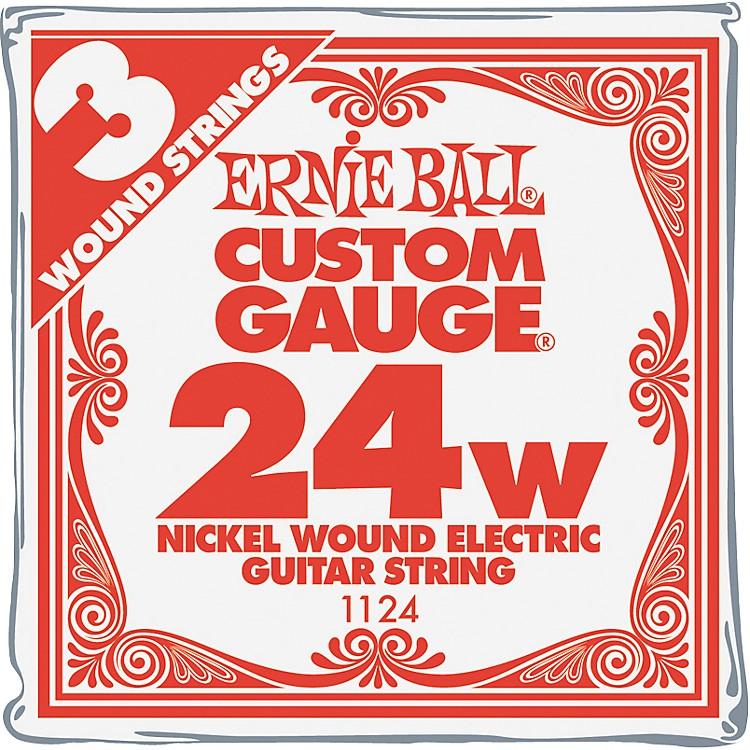 Ernie BallNickel Wound Single Guitar Strings 3-Pack.0243-Pack