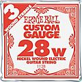 Ernie Ball Nickel Wound Single Guitar Strings 3-Pack .062 3-Pack