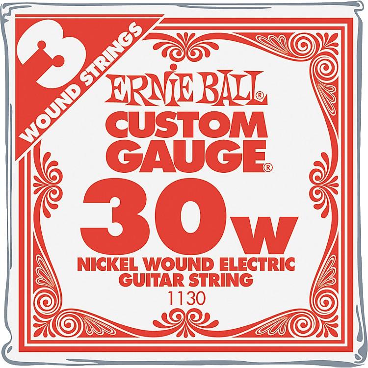 Ernie BallNickel Wound Single Guitar Strings 3-Pack.0303-Pack
