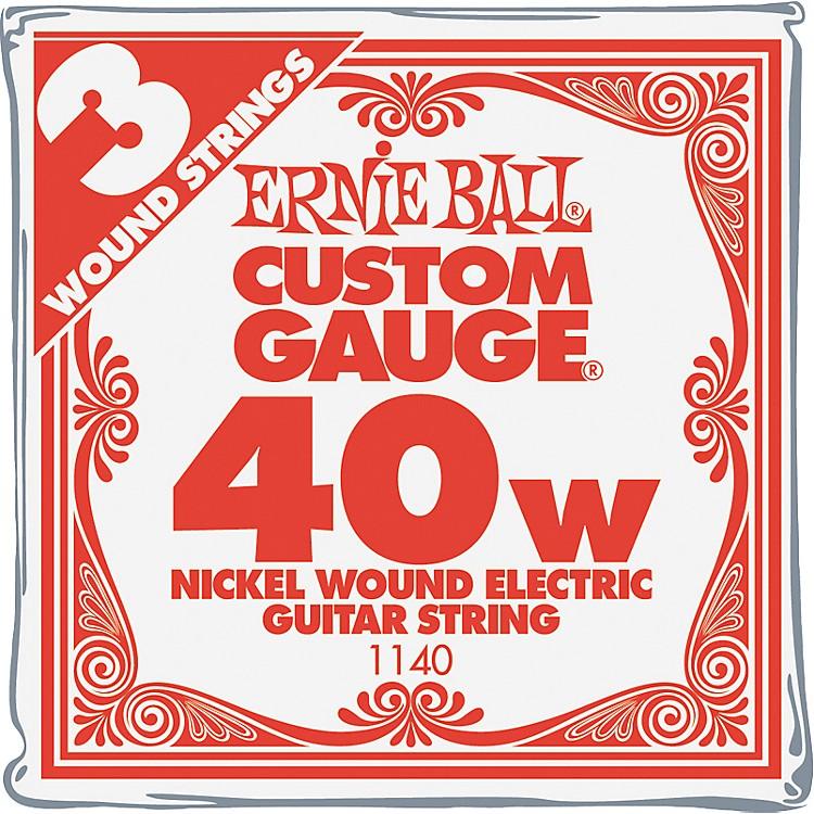 Ernie BallNickel Wound Single Guitar Strings 3-Pack.0643-Pack