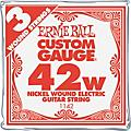 Ernie Ball Nickel Wound Single Guitar Strings 3-Pack .042 Gauge 3-PackThumbnail