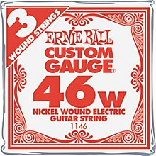 Ernie Ball Nickel Wound Single Guitar Strings 3-Pack .046 Gauge 3-Pack