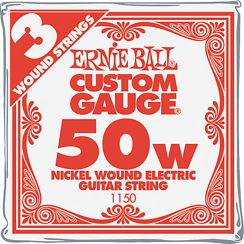 Ernie Ball Nickel Wound Single Guitar Strings 3-Pack