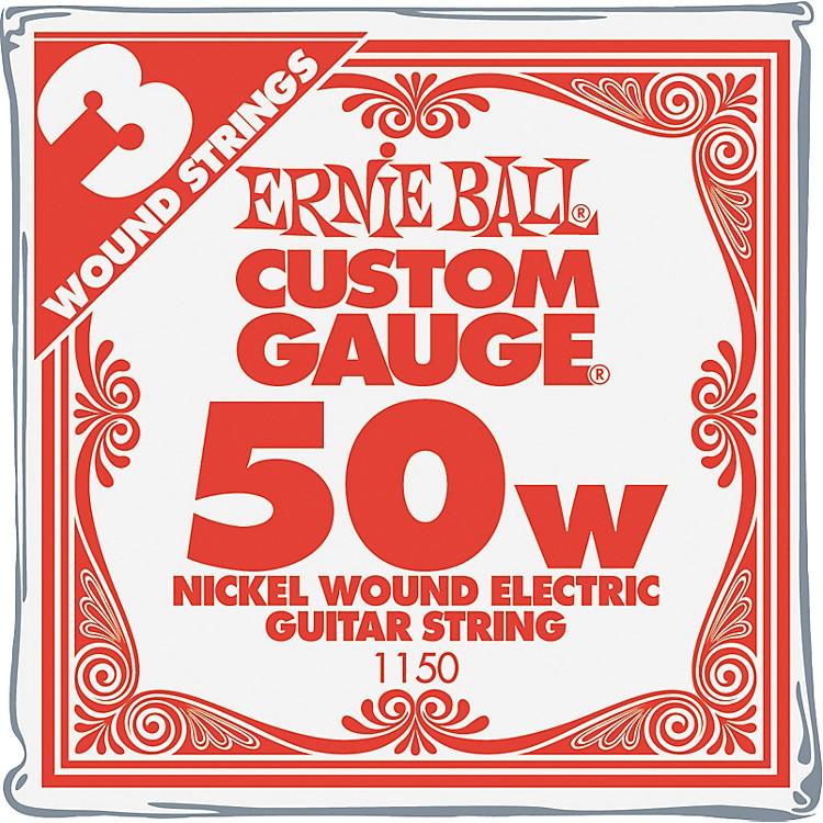 Ernie BallNickel Wound Single Guitar Strings 3-Pack.0623-Pack