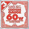 Ernie Ball Nickel Wound Single Guitar Strings 3-Pack .060 Gauge 3-PackThumbnail