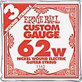 Ernie Ball Nickel Wound Single Guitar Strings 3-Pack .062 Gauge 3-PackThumbnail