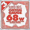 Ernie BallNickel Wound Single Guitar Strings 3-Pack.0683-Pack