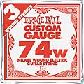 Ernie BallNickel Wound Single Guitar Strings 3-Pack.0743-Pack