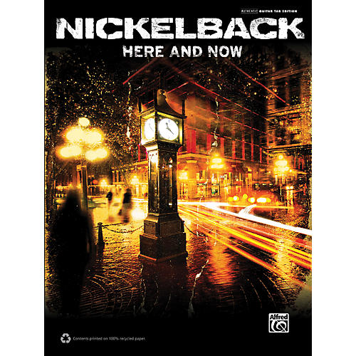 Hal Leonard Nickelback Here and Now Guitar TAB Book