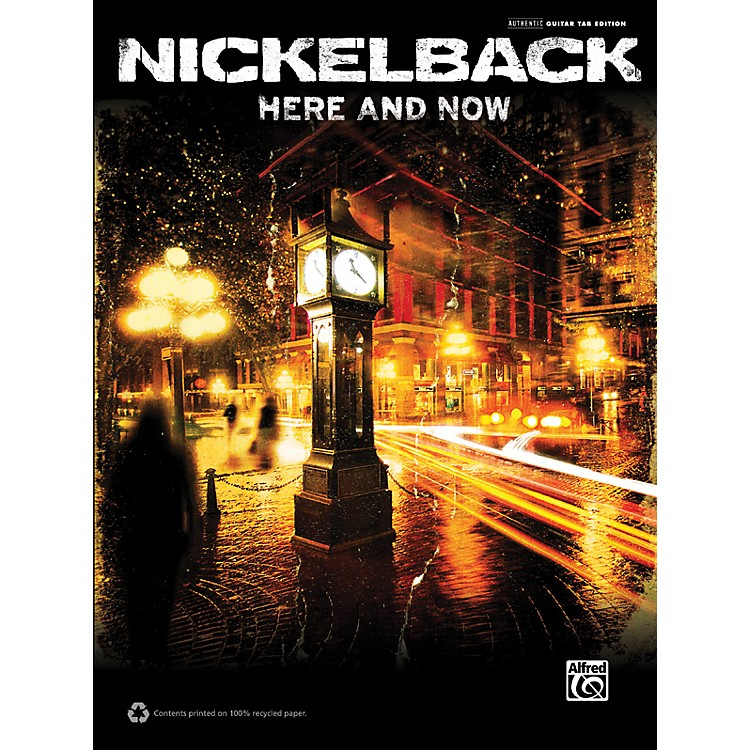 Hal LeonardNickelback Here and Now Guitar TAB Book