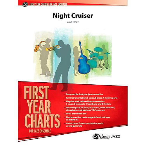 Alfred Night Cruiser Jazz Band Grade 1