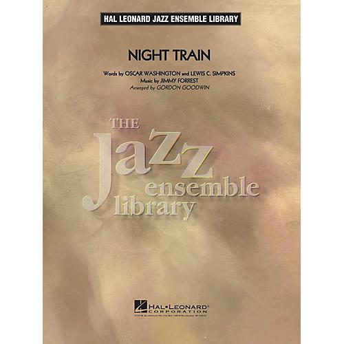 Hal Leonard Night Train Jazz Band Level 4 Arranged by Gordon Goodwin-thumbnail