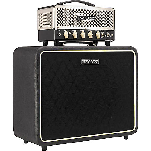 Vox Night Train NT15H and V112NT Half Stack
