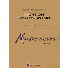 Hal Leonard Night on Bald Mountain Concert Band Level 1.5 Arranged by Michael Sweeney
