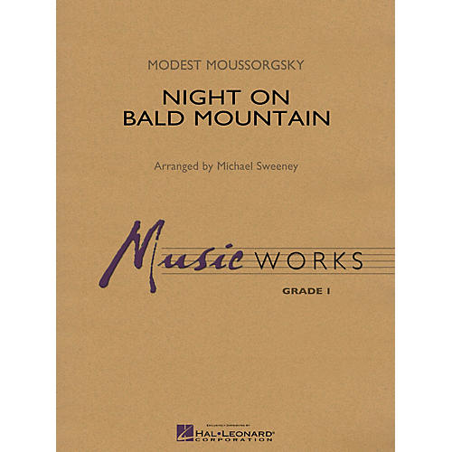 Hal Leonard Night on Bald Mountain Concert Band Level 1.5 Arranged by Michael Sweeney-thumbnail