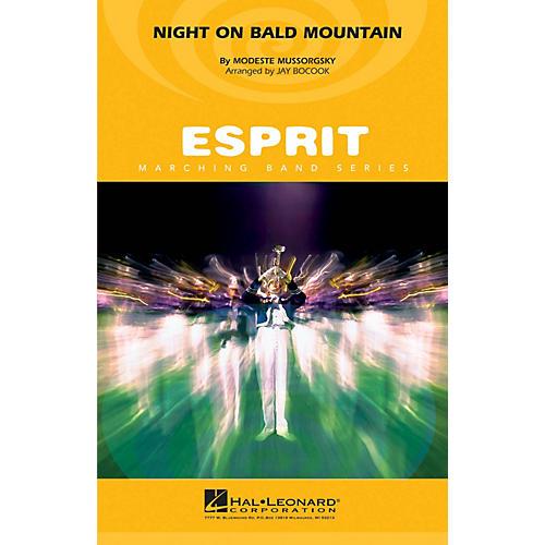 Hal Leonard Night on Bald Mountain Marching Band Level 3 Arranged by Jay Bocook-thumbnail