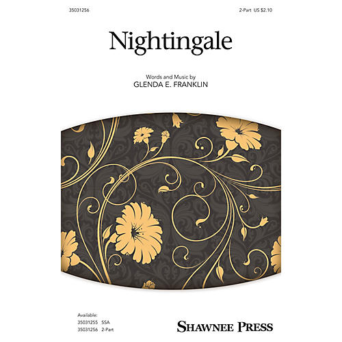 Shawnee Press Nightingale 2-Part composed by Glenda E. Franklin