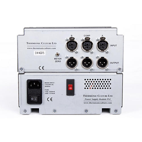 Thermionic Culture Nightingale Dual Mic Pre & Mono Compressor