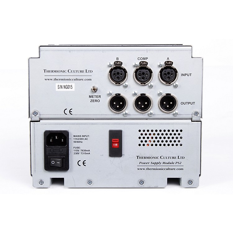 Thermionic CultureNightingale Dual Mic Pre & Mono Compressor