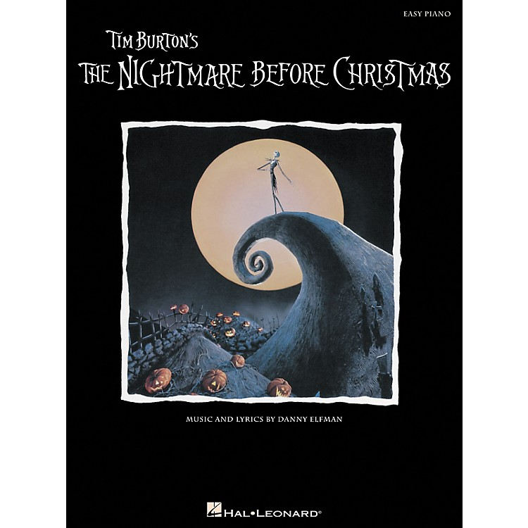 Hal Leonard Nightmare Before Christmas For Easy Piano