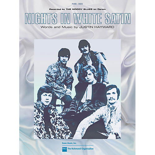 TRO ESSEX Music Group Nights in White Satin Richmond Music ¯ Sheet Music Series Performed by The Moody Blues-thumbnail