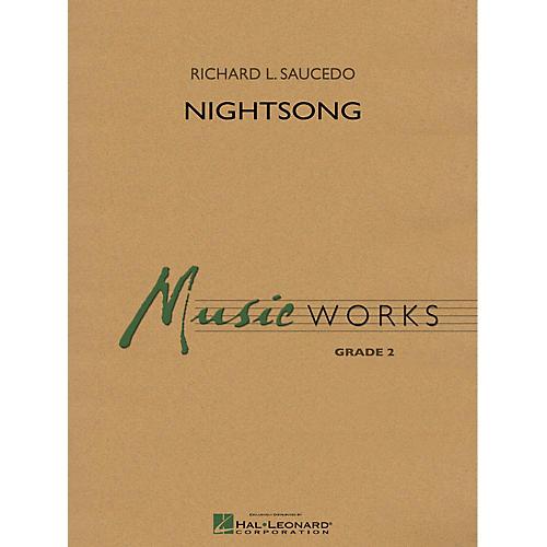 Hal Leonard Nightsong Concert Band Level 2 Composed by Richard L. Saucedo-thumbnail