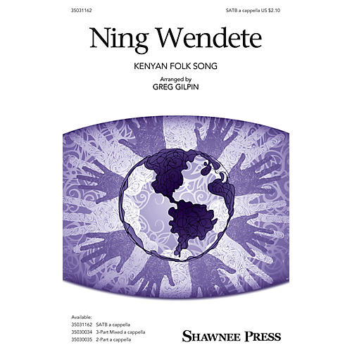 Shawnee Press Ning Wendete SATB a cappella arranged by Greg Gilpin-thumbnail