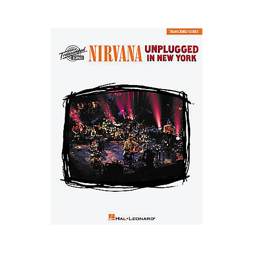 Hal Leonard Nirvana - Unplugged in New York Music Book