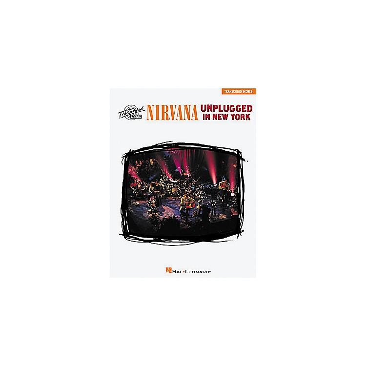Hal LeonardNirvana - Unplugged in New York Music Book