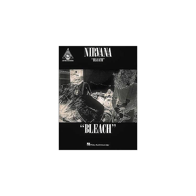 Hal LeonardNirvana Bleach Guitar Tab Songbook